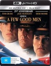 A Few Good Men - 25th Anniversary Edition | Blu-ray + UHD | UHD