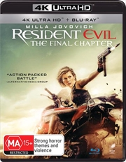 Resident Evil - The Final Chapter | Blu-ray + UHD | UHD