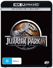 Jurassic Park III | Blu-ray + UHD | UHD