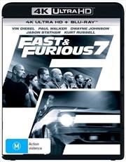 Fast and Furious 7 | Blu-ray + UHD | UHD