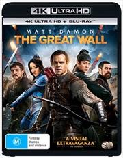 Great Wall | Blu-ray + UHD, The | UHD