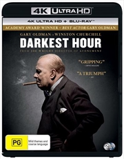 Darkest Hour | Blu-ray + UHD | UHD