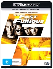 Fast And The Furious | Blu-ray + UHD, The | UHD