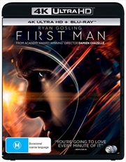 First Man | Blu-ray + UHD | UHD