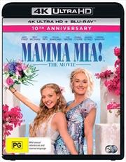 Mamma Mia! | Blu-ray + UHD | UHD