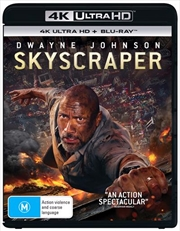 Skyscraper | Blu-ray + UHD | UHD