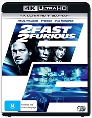 2 Fast 2 Furious | Blu-ray + UHD | UHD