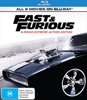Fast and Furious | 8 Movie Franchise - FatPack | Blu-ray