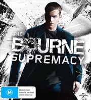 Bourne Supremacy   Blu-ray + UHD, The   UHD