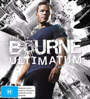 Bourne Ultimatum   Blu-ray + UHD, The   UHD