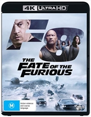 Fate Of The Furious | Blu-ray + UHD, The | UHD