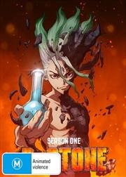 Dr Stone - Season 1 - Part 2   Blu-ray + DVD   Blu-ray
