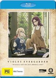 Violet Evergarden I - Eternity And The Auto Memory Doll   Blu-ray