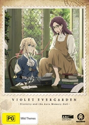 Violet Evergarden I - Eternity And The Auto Memory Doll   DVD