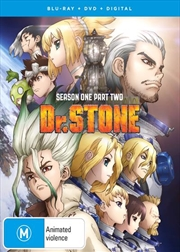 Dr Stone - Season 1 - Part 2 - Limited Edition | Blu-ray + DVD | Blu-ray/DVD