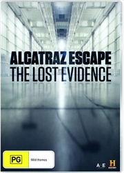 Alactraz Escape - The Lost Evidence | DVD