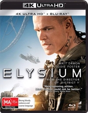 Elysium | Blu-ray + UHD | UHD