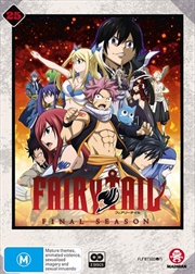 Fairy Tail - Collection 25 - Eps 304-316 | Final Season | DVD
