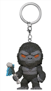 Godzilla vs Kong - Kong with Scepter Pocket Pop! Keychain | Pop Vinyl