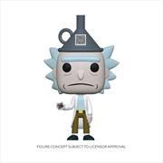 Rick and Morty - Rick with Funnel Hat US Exclusive Pop! Vinyl | Pop Vinyl