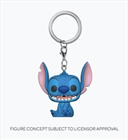 Lilo & Stitch - Stitch Pop! Keychain | Pop Vinyl