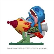 Lilo and Stitch - Stitch in Rocket Pop! Ride | Pop Vinyl
