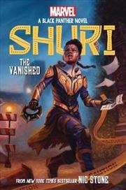 The Vanished (Shuri: A Black Panther Novel #2) (2) | Hardback Book