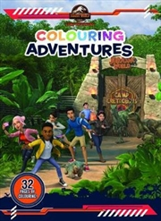 Camp Cretaceous - Colouring Adventures | Paperback Book