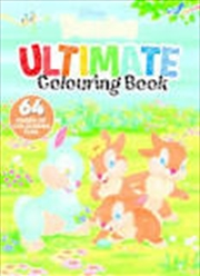 Disney Bunnies - Ultimate Colouring Book | Paperback Book