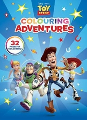 Toy Story - Colouring Adventures | Paperback Book