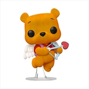 Winnie the Pooh - Pooh Valentines Flocked US Exclusive Pop! Vinyl [RS]   Pop Vinyl