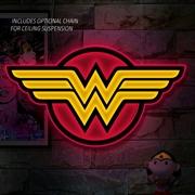 Wonder Woman - Logo Large LED Wall Light | Accessories