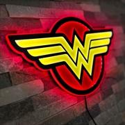 Wonder Woman - Logo Regular LED Wall Light | Accessories