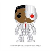 "Cyborg - Cyborg 4"" Pop! Enamel Pin   Merchandise"