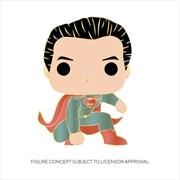 "Superman - Superman 4"" Pop! Enamel Pin   Merchandise"