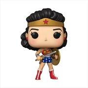 Wonder Woman - Classic 1950s 80th Anniversary Pop! Vinyl | Pop Vinyl