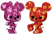 Mickey Mouse - Mickey and Minnie (Atrist) US Exclusive Pop! Vinyl Bundle [RS] | Pop Vinyl