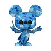 Mickey Mouse - Conductor (Artist) US Exclusive Pop! Vinyl [RS] | Pop Vinyl