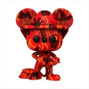 Mickey Mouse - Firefighter (Artist) US Exclusive Pop! Vinyl [RS] | Pop Vinyl