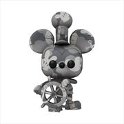 Mickey Mouse - Steamboat Willie (Artist) US Exclusive Pop! Vinyl [RS] | Pop Vinyl