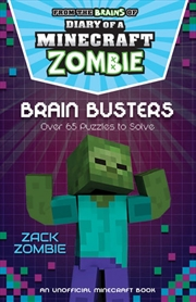 Minecraft Brain Busters | Paperback Book