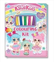 Kindi Kids Colouring Kit | Hardback Book