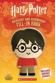 Harry Potter: Squishy: Bravery and Friendship Fill-In Book | Hardback Book