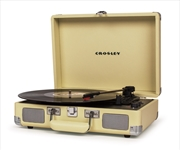 Crosley Cruiser Turntable – Fawn | Hardware Electrical