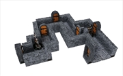 WarLock Tiles - Dungeon Straight Walls | Games