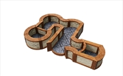 WarLock Tiles - Town & Village Angles & Curves | Games