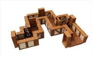 WarLock Tiles - Town & Village Straight Walls | Games
