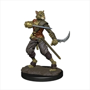 Dungeons & Dragons - Icons of the Realms Tabaxi Rogue Male Premium Figure | Merchandise
