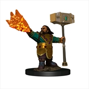 Dungeons & Dragons - Icons of the Realms Dwarf Cleric Male Premium Figure | Merchandise