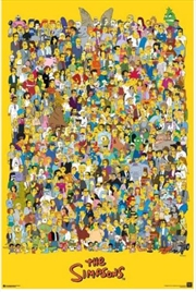 The Simpsons - Cast Poster | Merchandise